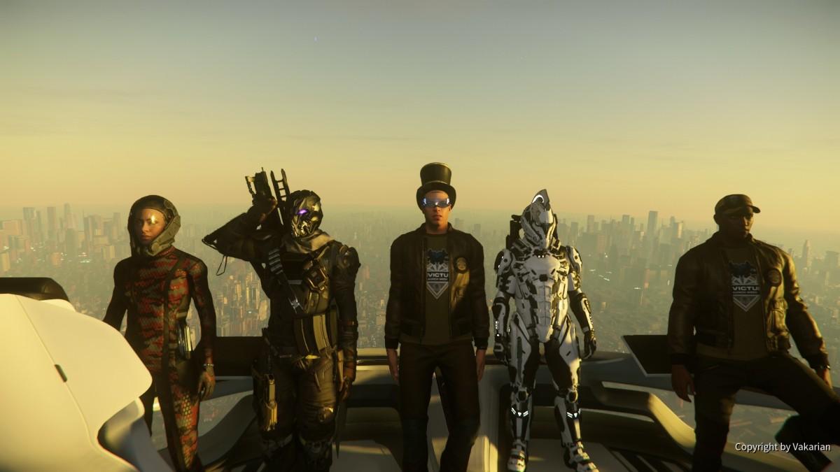 Erfolgreich eine Virtuelle Raumschiff Messe besucht.