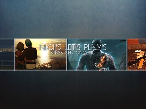 Youtube-Kanalbanner NiiCii's Let's Play's